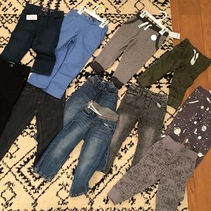 Zara Jeans and sweat pants 2T